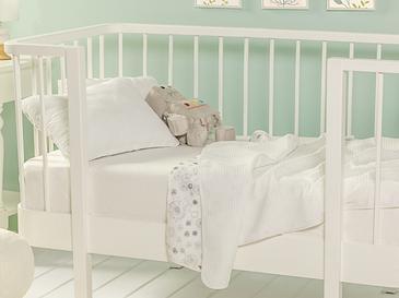 Dandelion Бебешкo Пике-Лятно Одеяло 80x120 См Сиво