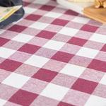 Plaid Cottony 16,8x2,5x21,4 Cm Claret Red