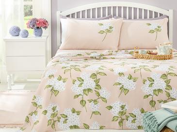 Hydrangea Комплект Пике-Лятно Одеяло Двоен Размер 200x220 См Розово
