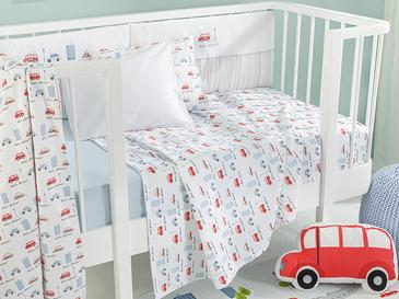 Mini Cars Бебешка Покривка Отпечатано 100 Ml Синьо