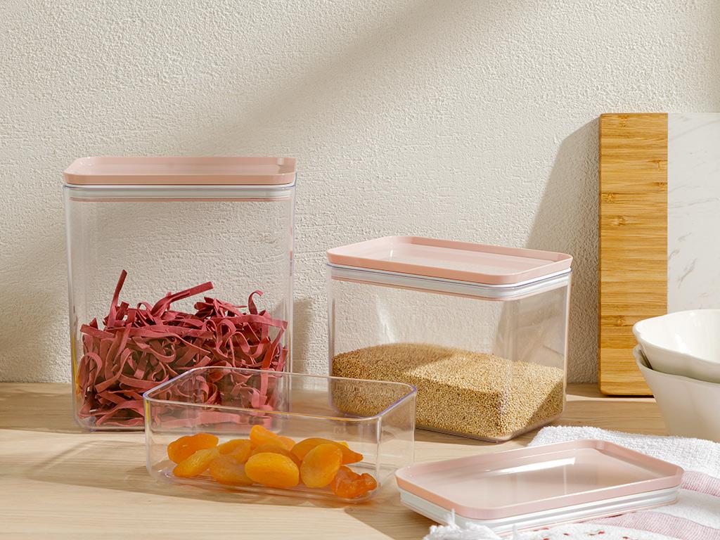Plastic Erzak Kabı 75 Cm Pink