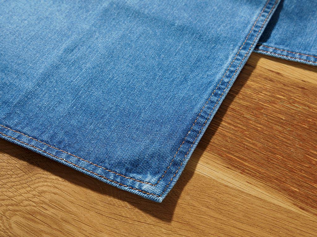 Cotton 2 Set Place Mat 30x45 Cm Indigo