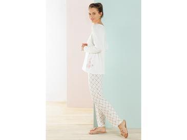 Art Bloom Пижама Комплект Вискоза L-XL Бяло