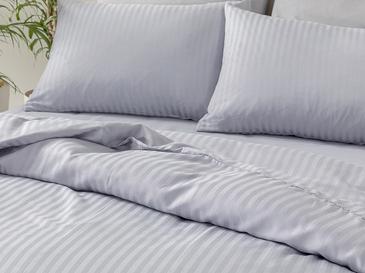 CrystalКомплект Спално Бельо King Size 240x220 См Синьо