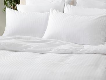 Crystal Комплект Спално Бельо Двоен Размер 200x220 См Бяло
