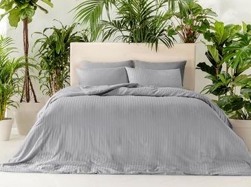 Crystal Комплект Спално Бельо King Size 240x220 См Сиво