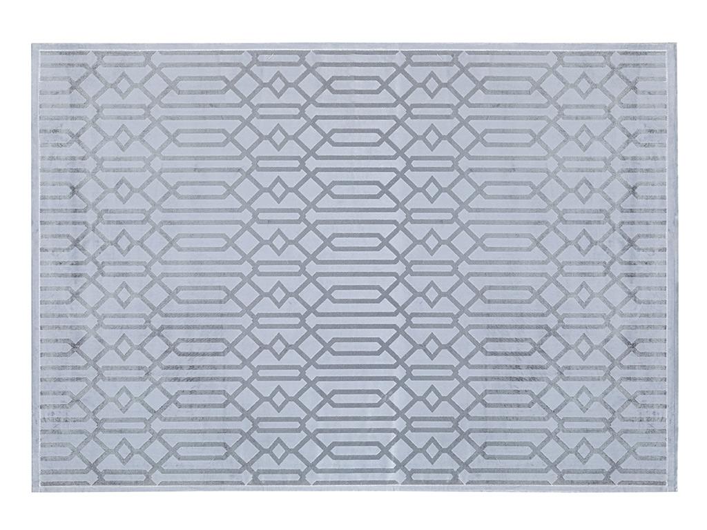 Velvet Carpet 120x180 Cm. Gray
