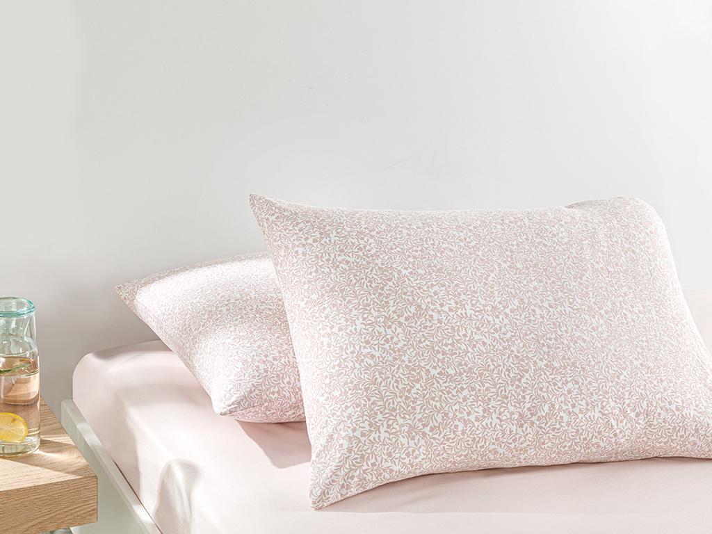 Tımeless Garden Cottony 2 Set Pıllowcase 50x70 Cm Pink