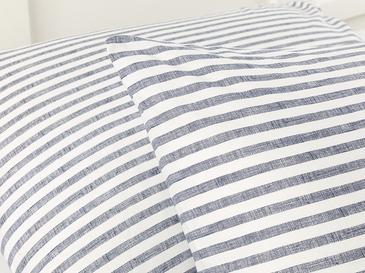 Modern Stripe Kombin Калъфка за Възглавница 2 Бр 50x70 См Тъмносиньо
