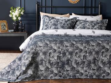 Gingko Комплект Покривало за Легло King Size 260x280 Cm Тъмносиньо