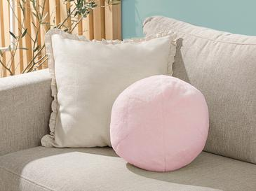 Ball Декоративна Възглавничка Плюш 40 См Розово