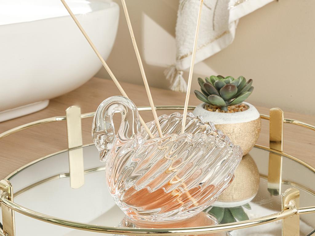 Swan Decoratıve Object Transparent
