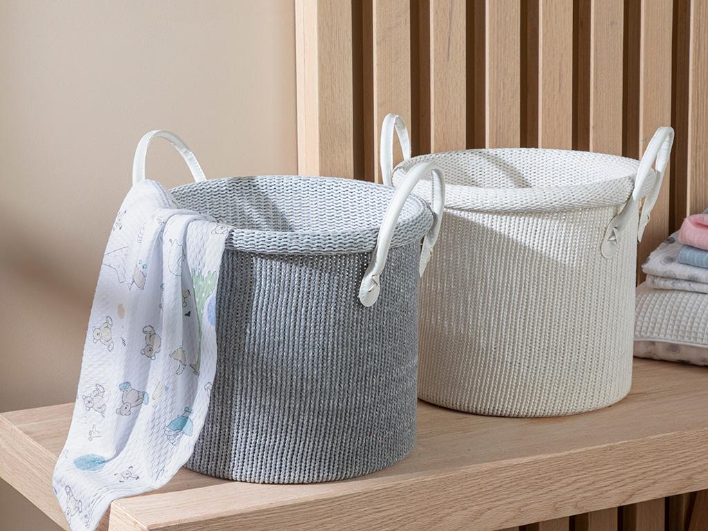 Oxford Basket Gray