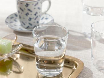 Hira Чаша за Вода 6 Бр. 120 Мл Прозрачно