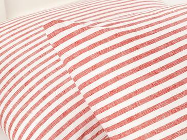 Modern Stripe Kombin Калъфка за Възглавница 2 Бр 50x70 См Червено