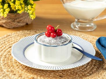Clover White Порцелан 8,5 Cm Бяло-синьо