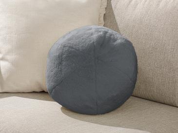 Ball Декоративна Възглавничка Плюш 40 См Тъмносиво