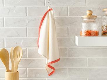 Karen Кърпа за Изсушаване  30x30 cm Оранжево