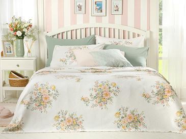 Cottage Garden Пике-Лятно Одеяло Двоен Размер 200x220 См Пудра