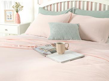 Cool Stripe Сет Пике-Лятно Одеяло Единичен Размер 150x220 См Розово