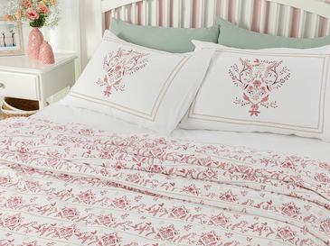 Dream Garden Комплект Пике-Лятно Одеяло Единичен Размер 150x220 См Бордо