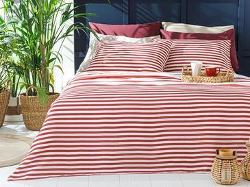 HIP STRIPE Комплект Пике-Лятно Одеяло Единичен Размер 150x220 См Бордо