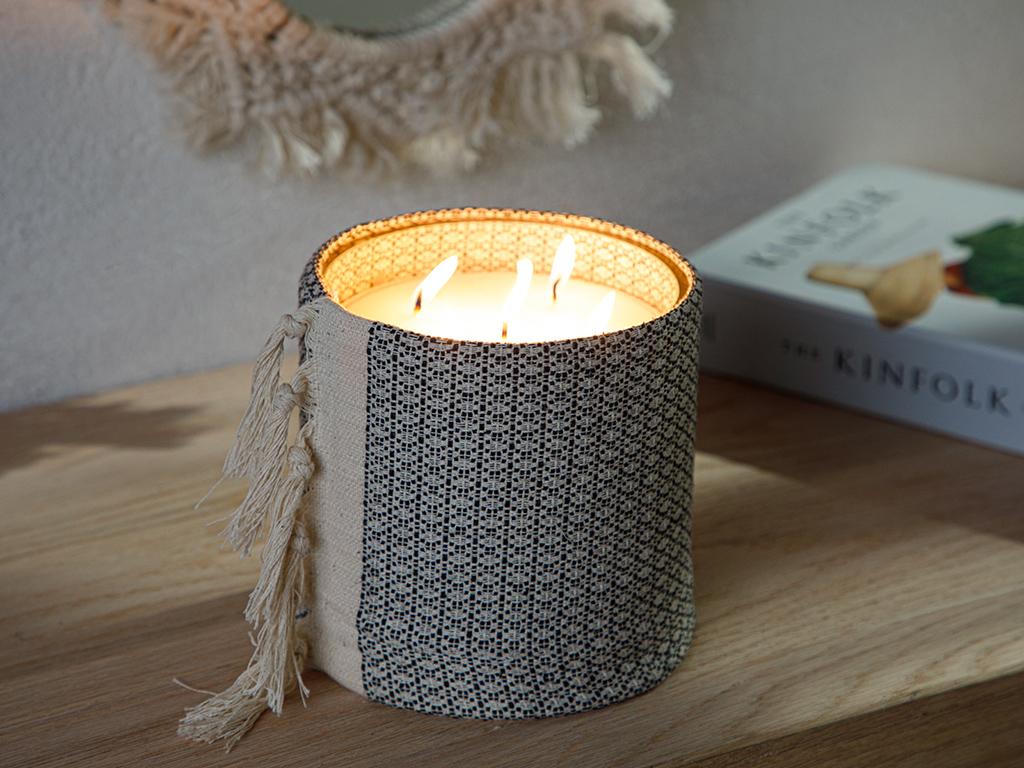 Authentic Scented Candle 15 Cm Antrachite