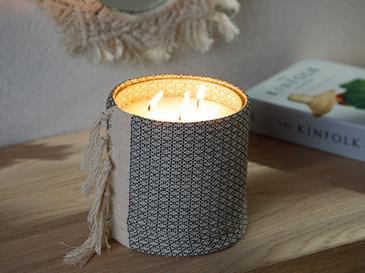 Authentıc Ароматизиран Свещ 15 cm Антрацит
