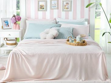Breeze Пике-Лятно Одеяло Двоен Размер 200x220 См Розово
