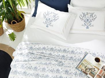Dream Garden Комплект Пике-Лятно Одеяло Двоен Размер 200x220 См Синьо