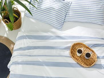 Hip Stripe Комплект Пике-Лятно Одеяло Единичен Размер 150x220 См Синьо