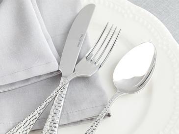 Pinoli Комплект Вилици&ножове&лъжици 18 Бр. Сребристо