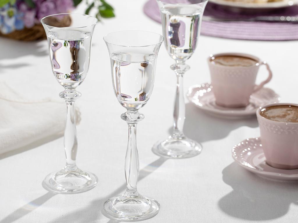 Nila Glass 6 Set Water Glass 60 Ml Transparent