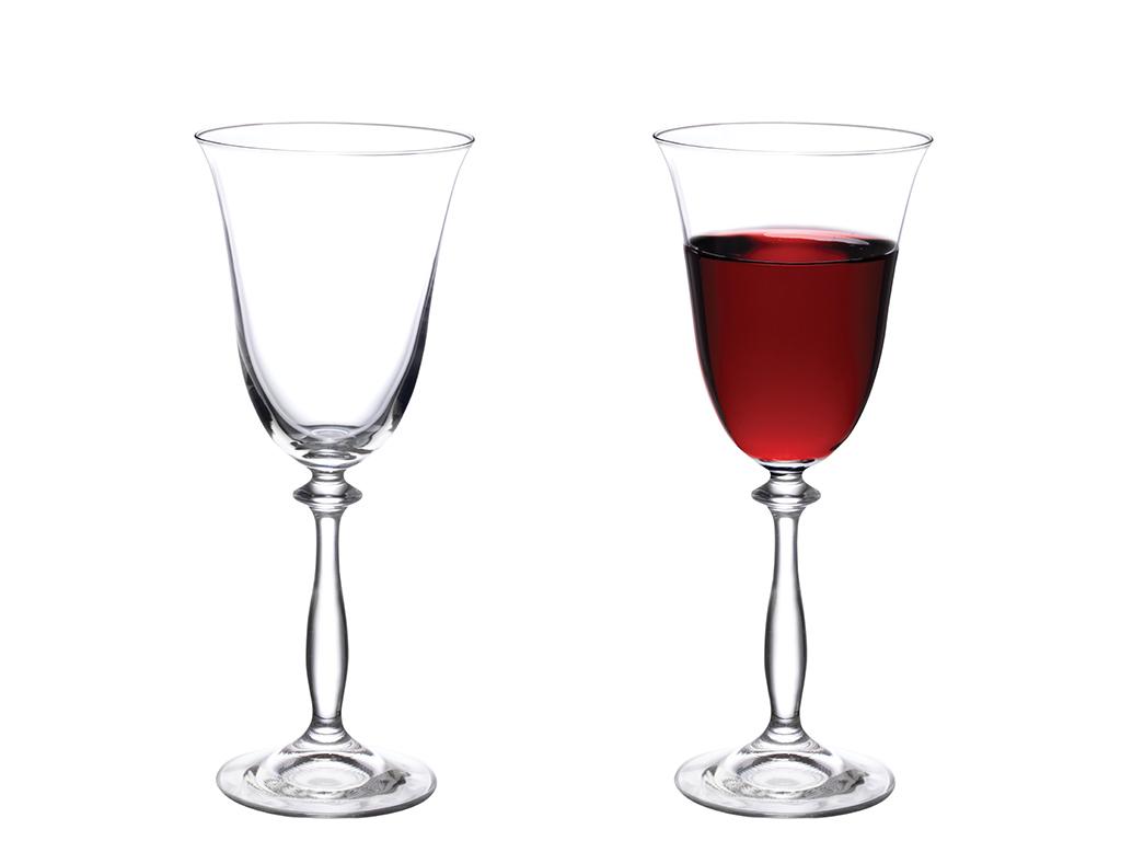 Nila Glass 6 Set Glass 250 Ml Transparent
