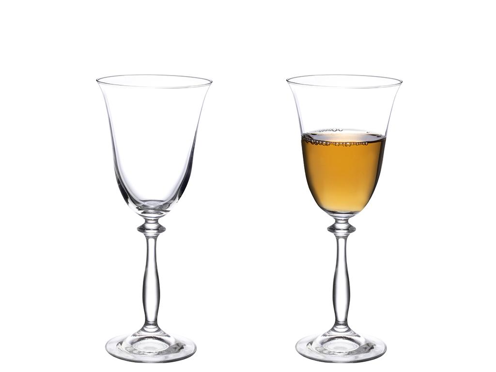 Nila Glass 6 Set Glass 185 Ml Transparent