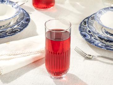 Чаша За Безалкохолно 3 Броя Стъкло Прозрачно