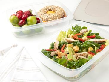 Nish Кутии за Съхранение На Храна 2 Бр. 2x1,35 L Бежово