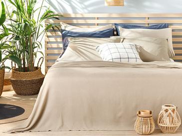 Cool Stripe Сет Пике-Лятно Одеяло King Size 220x240 См Бежово
