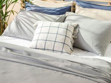 Cool Stripe Сет Пике-Лятно Одеяло Единичен Размер 150x220 См Сиво