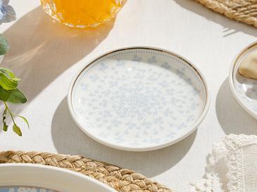 Съд За Ядки New Bone 10cm Бяло-синьо
