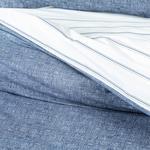 Cottony Double Person Duvet Cover Set Pack 200x220 Cm. Dark Blue