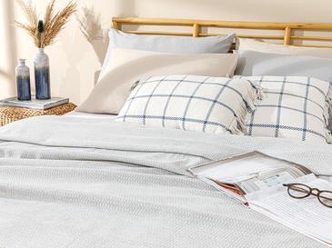 Trios Пике-Лятно Одеяло Единичен Размер 150x220 См Сиво