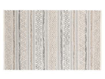 Cotton Modern Килим Тъкан Бежово-сиво