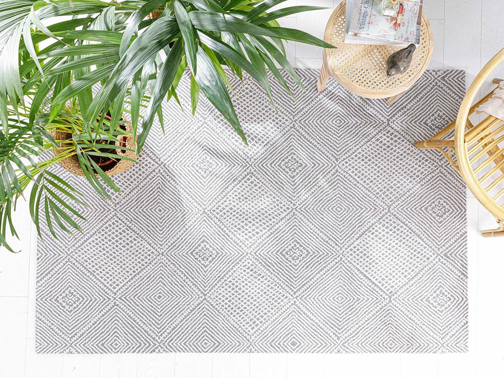 Weaved Carpet Gray