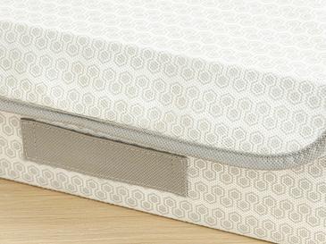Honeycomb Кутия За Съхранение 30x23x11 Cm Сиво