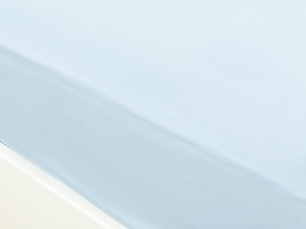 Plain Cottony For One Person Sheet 160x240 Cm Aqua