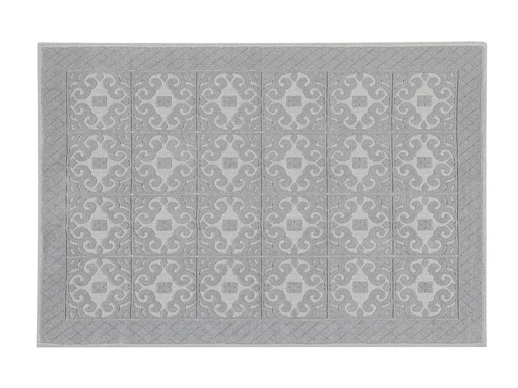 Curl Cotton Rug 80x150 Cm Gray