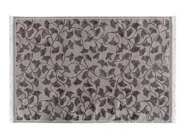 Velvet Ginkgo Килим Кадифе 120x180 cm Сиво