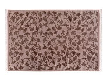 Velvet Ginkgo Килим Кадифе 80x250 cm Слива