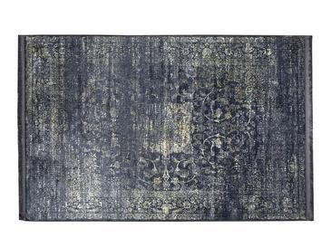 Silk Touch Tony Килим Кадифе80x140 cm Тъмносиньо
